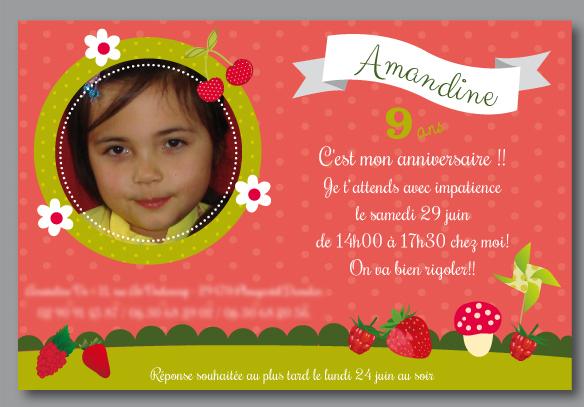 Carte d 39 anniversaire fille 9 ans - Anniversaire fille 2 ans ...